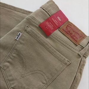 NEW-Brown 505 Straight Leg LEVI'S Jeans 27 x 32